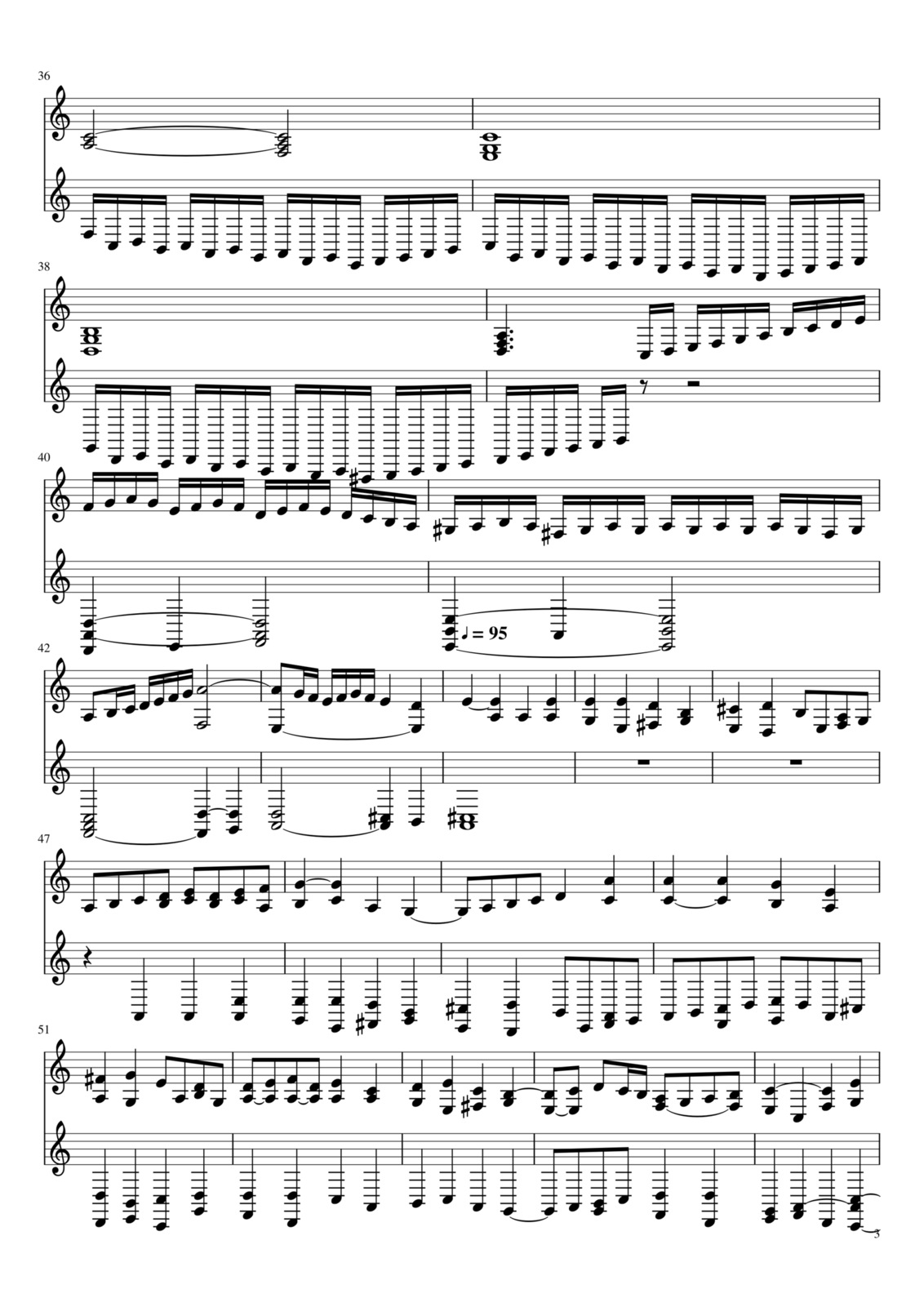 Toccata A-moll slide, Image 3