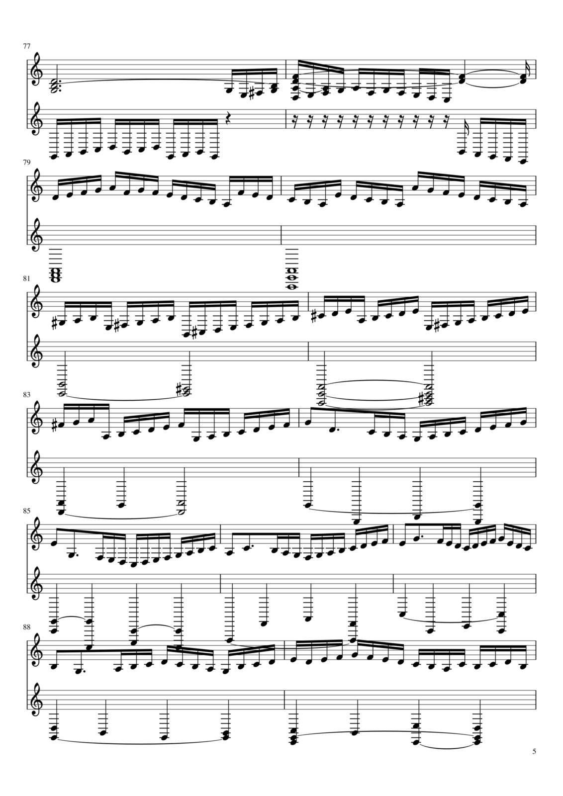 Toccata A-moll slide, Image 5