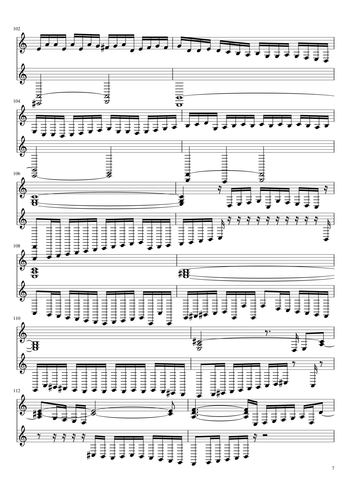 Toccata A-moll slide, Image 7