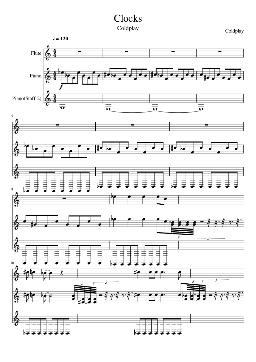 Clocks slide, Image 1
