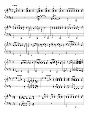 Click me to view sheet: Remington Steele Theme